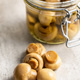 Pickled champignons. Marinated mushrooms - PhotoDune Item for Sale