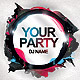 Unique Party Flyer - GraphicRiver Item for Sale