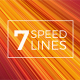 7 Speed Lines Backgrounds - VideoHive Item for Sale