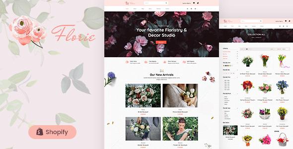Florie - Florist and Flower Shop Shopify Theme