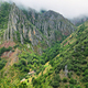 View of valley with craggy mountains near Pola de Somiedo Village, Somiedo nature reserve, spain - PhotoDune Item for Sale