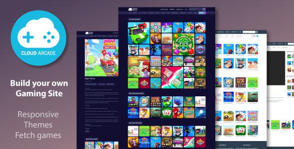 CloudArcade - HTML5 or Web Game Portal CMS