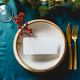 Festive table setting with winter decor and mockup - PhotoDune Item for Sale