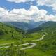 Mountain landscape along the road to Pordoi pass, Dolomites - PhotoDune Item for Sale