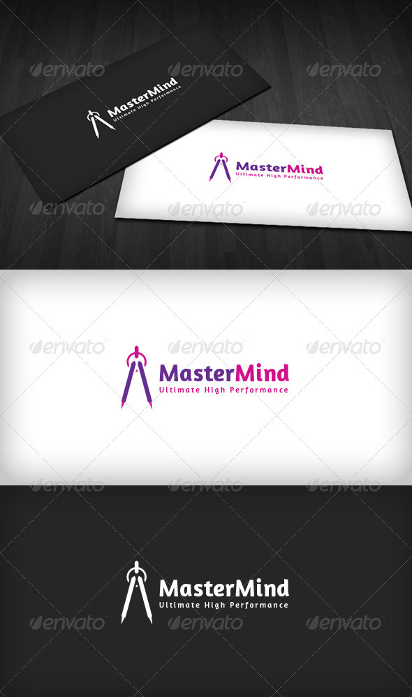 Mastermind Logo - Vector Abstract