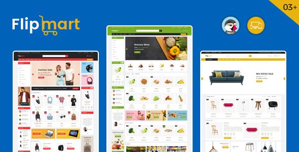 Flipmart – Supermarket Prestashop Theme