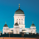 Helsinki, Finland. Senate Square With Lutheran Cathedral And Monument To Russian Emperor Alexander - PhotoDune Item for Sale