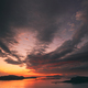 Alesund, Norway. Amazing Natural Dramatic Sky Above Alesund Valderoya And Islands In Sunset Sunrise - PhotoDune Item for Sale