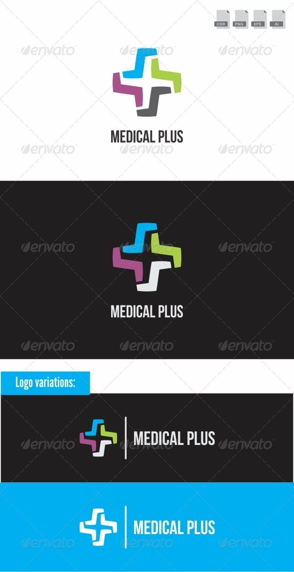 Medical Plus - Objects Logo Templates