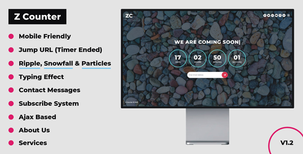 Z Counter - Coming Soon Countdown with Admin Panel