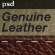 Genuine Leather - Business Card - GraphicRiver Item for Sale