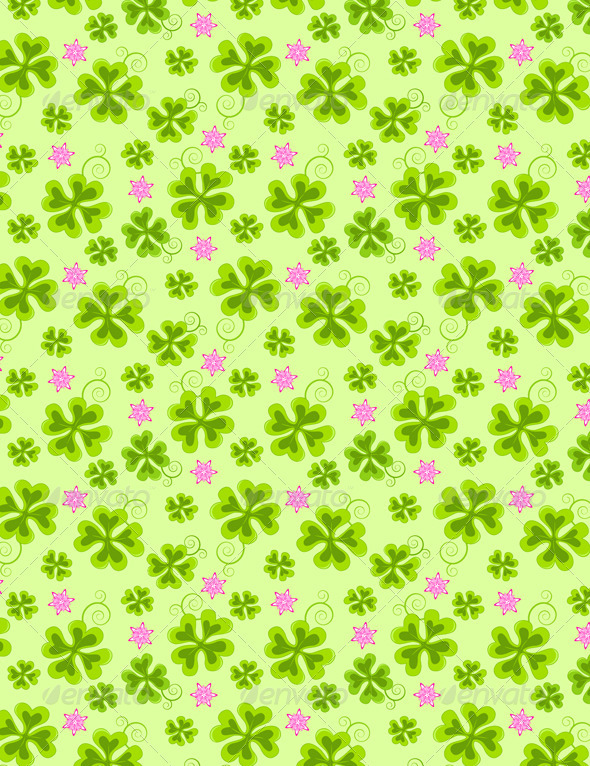 Saint Patrick's Day Seamless Pattern - Patterns Decorative