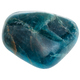 polished blue Apatite gem stone isolated on white - PhotoDune Item for Sale