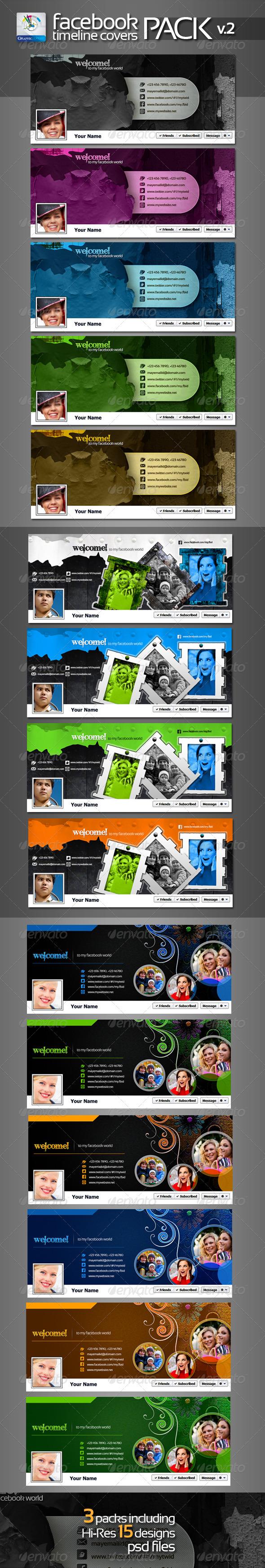 Artistic Facebook Timeline Cover Pack v.2 - Facebook Timeline Covers Social Media