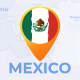 Mexico Map - United Mexican States Travel Map - VideoHive Item for Sale
