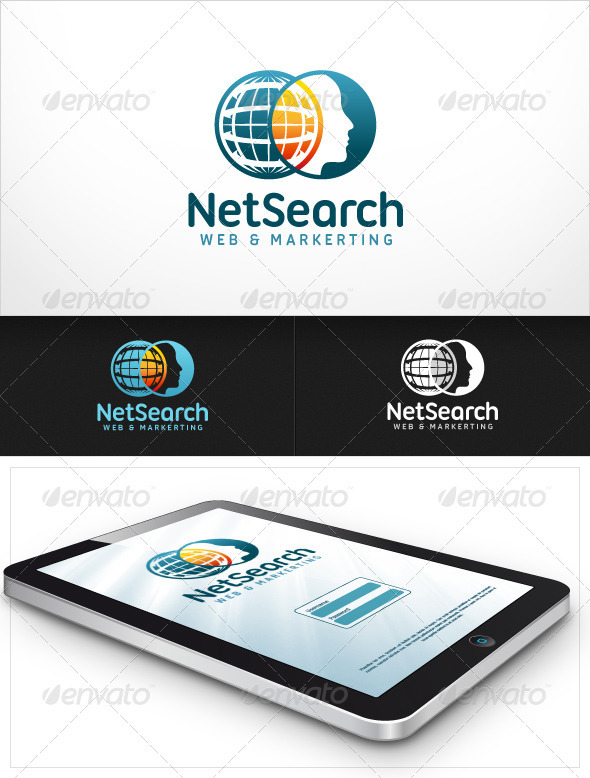 NetSearch Web and Marketing - Letters Logo Templates