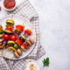 Vegetarian skewers with different grilled vegetables - PhotoDune Item for Sale