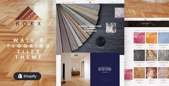 Bokx – Tiles Store Shopify Theme