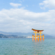 Floating gate of Itsukushima Shrine in Hiroshima - PhotoDune Item for Sale