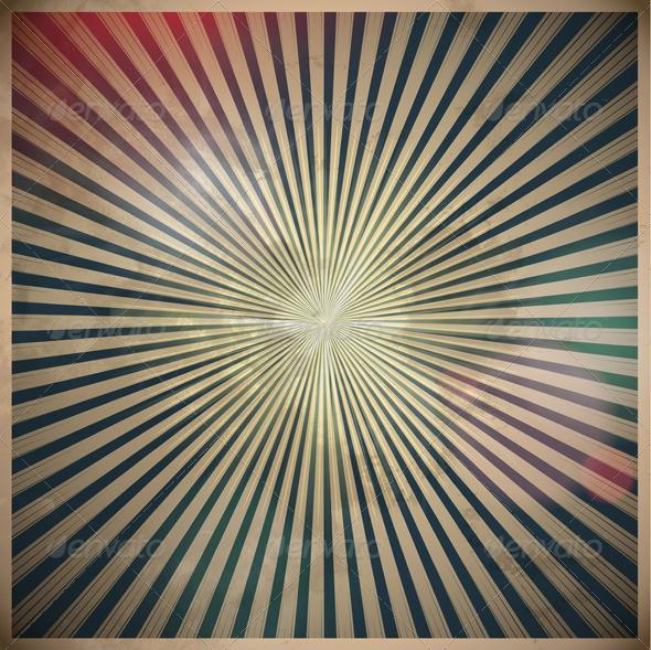 Retro grunge background - Backgrounds Decorative