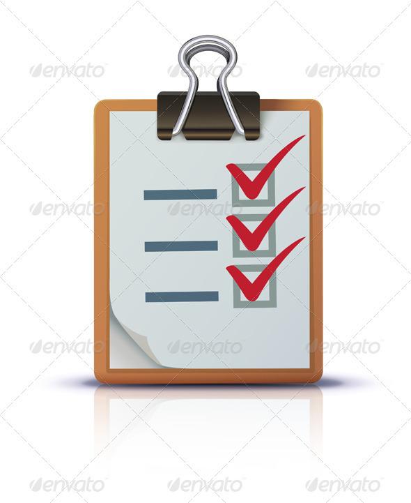 Check list  - Concepts Business