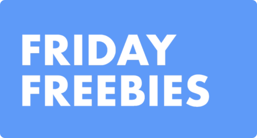 Friday Freebies - September 2020