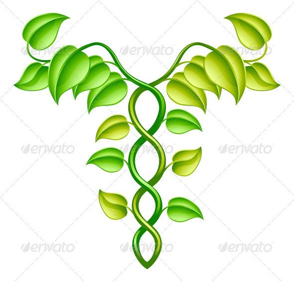 Natural or alternative medicine concept - Health/Medicine Conceptual