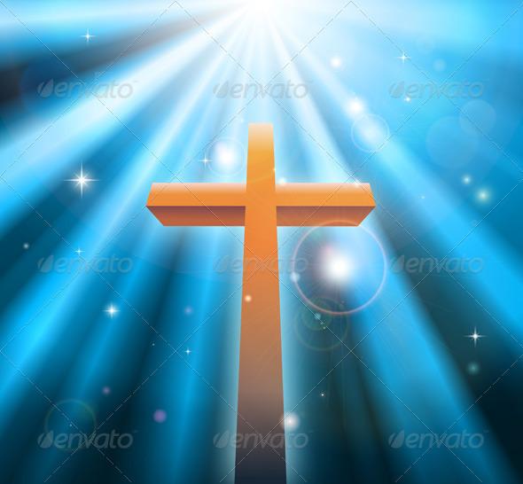 Christian religion cross - Religion Conceptual