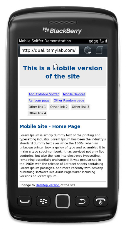 Mobile Sniffer Pro - Detection & Redirection Tool