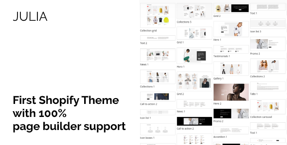 Julia – Multipurpose Shopify Theme