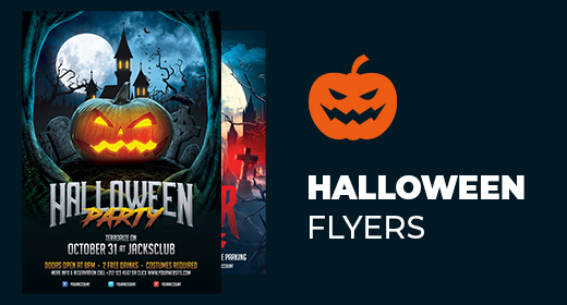 Halloween & Horror Flyers
