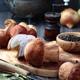 Porcini mushrooms on table - PhotoDune Item for Sale