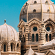 Marseille, France. Domes Of Cathedral De La Major - Church And Landmark In Marseille, France - PhotoDune Item for Sale
