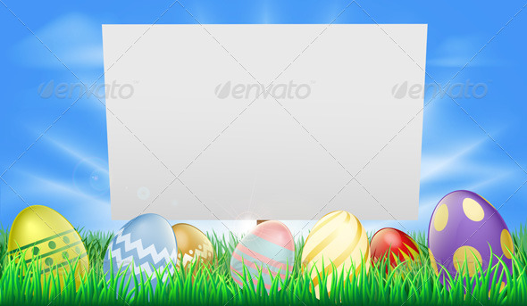 Easter sign - Seasons/Holidays Conceptual