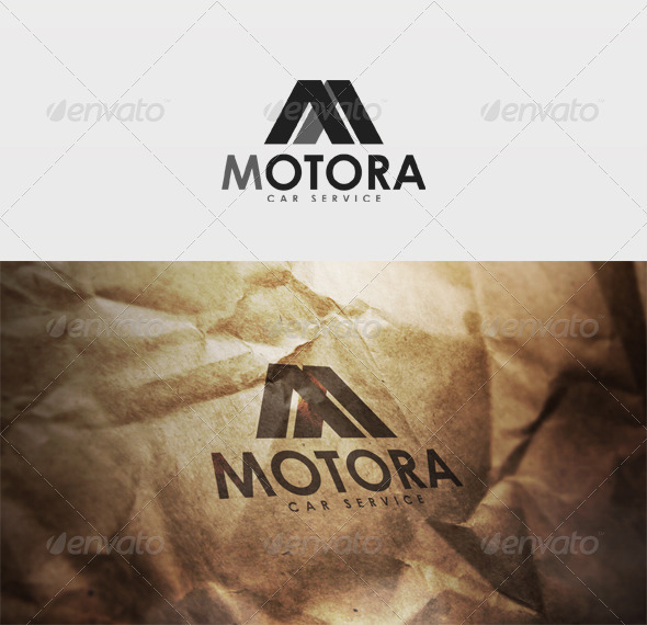 Motora Logo - Letters Logo Templates