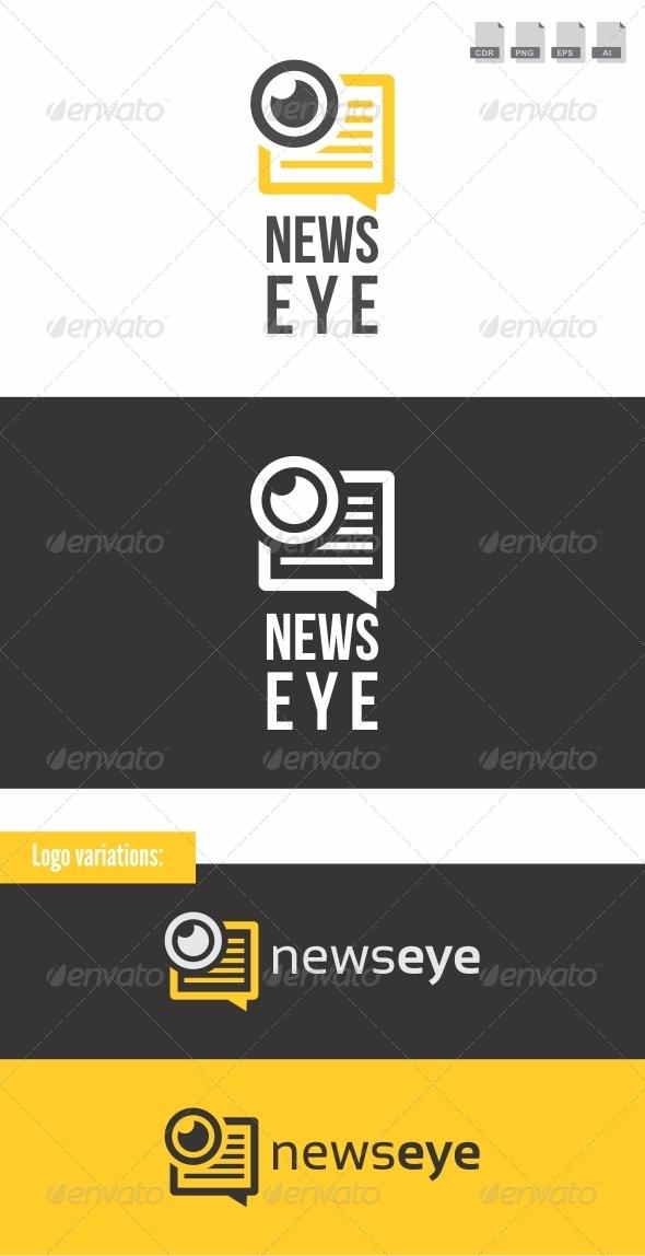 News Eye - Objects Logo Templates