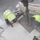 Construction workers repairing a sidewalk - PhotoDune Item for Sale