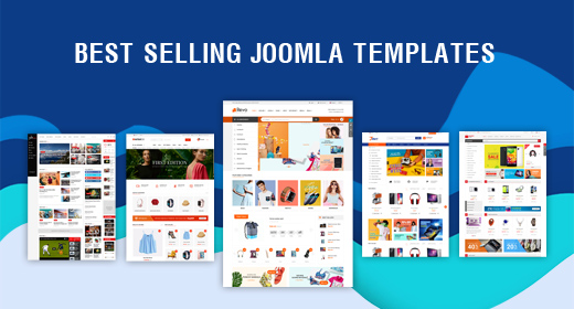 Best Selling Joomla Templates with High Quality and Awesome Design