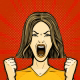 Woman Screaming 2