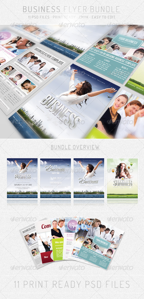 Bundle IV - Business - Flyer Template - Events Flyers