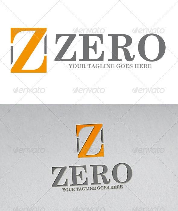 Zero Logo Z Letter - Letters Logo Templates