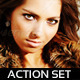 Summer Romance Action Set - GraphicRiver Item for Sale