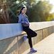 Sportswoman resting after jogging - PhotoDune Item for Sale