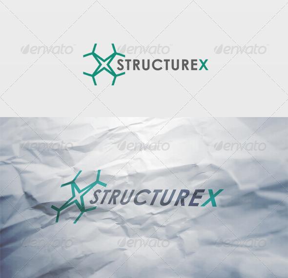 Structurex Logo - Letters Logo Templates