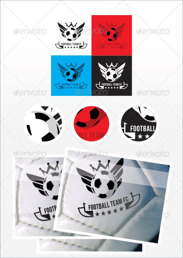Football Team FC Logo - Objects Logo Templates