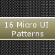 16 Micro UI Patterns - GraphicRiver Item for Sale