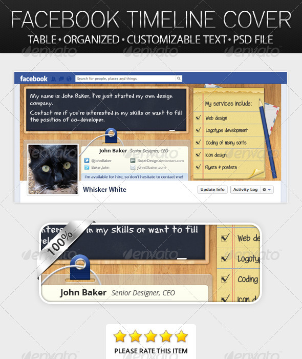 Table - Facebook Timeline Cover - Facebook Timeline Covers Social Media