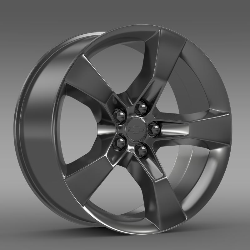 Chevrolet Camaro 2010 rim - 3DOcean Item for Sale