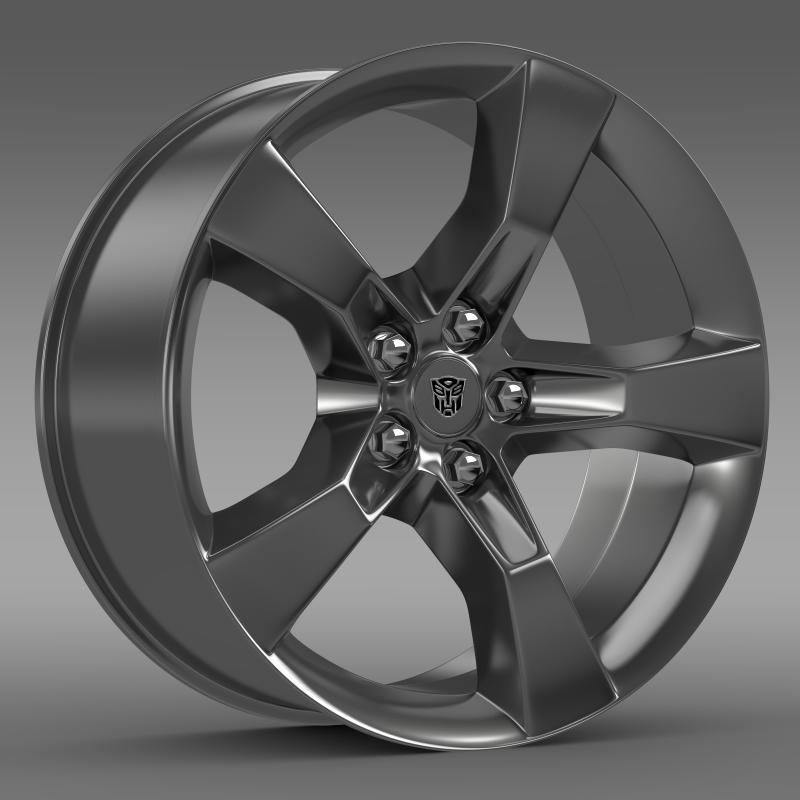 Chevrolet Camaro 2010 transformer rim - 3DOcean Item for Sale