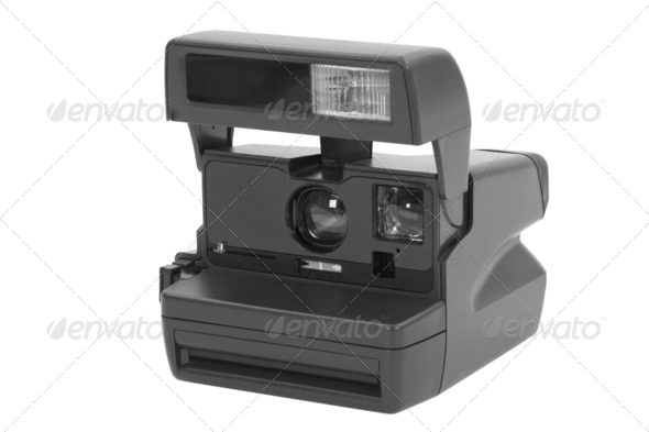 Instant Camera - Stock Photo - Images